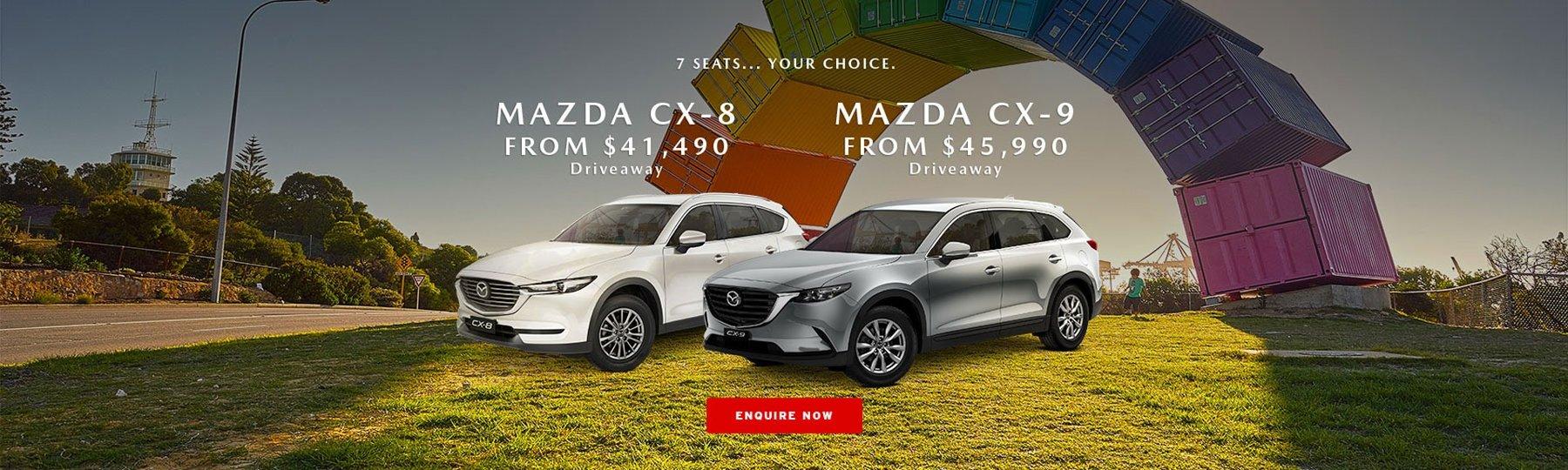 Mazda CX-8 at Melville Mazda