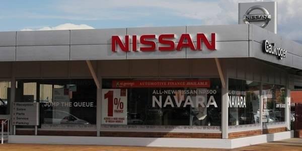 Gaukroger Nissan dealer image