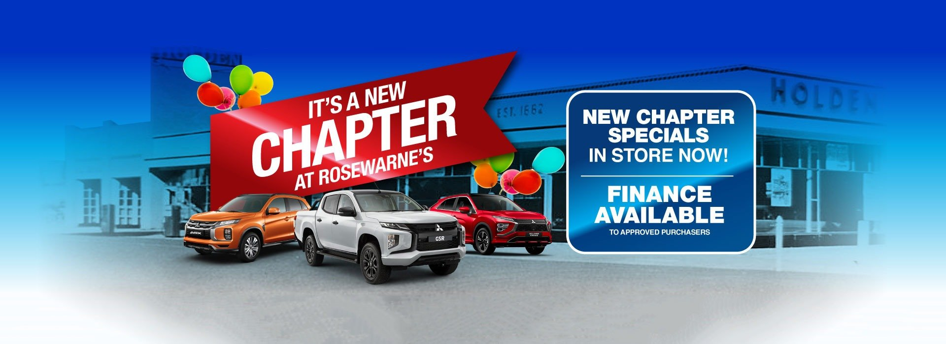 Rosewarnes Mitsubishi | All New Chapter Special!