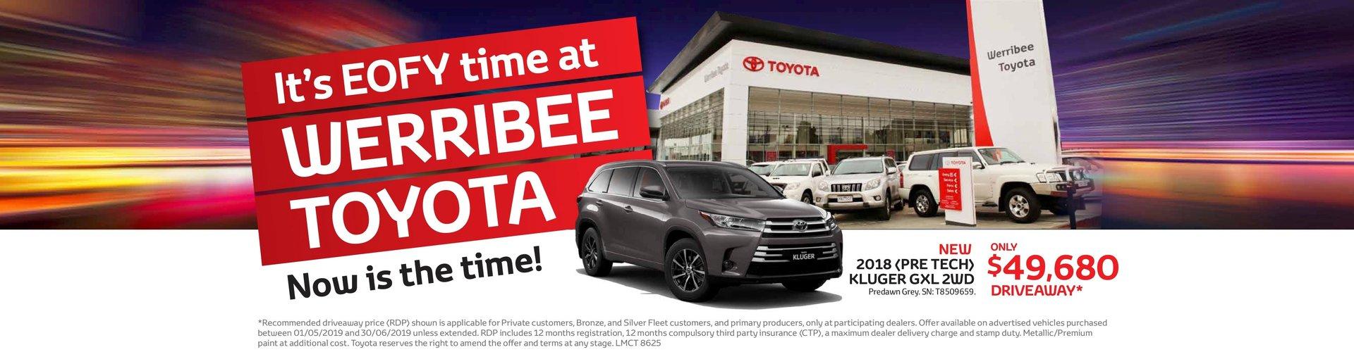 Werribee Toyota EOFY
