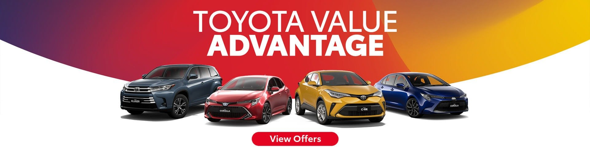 Toyota Factory Offer
