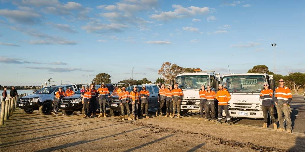 blog large image - Isuzu helps BDS Civil & Construction keep on track