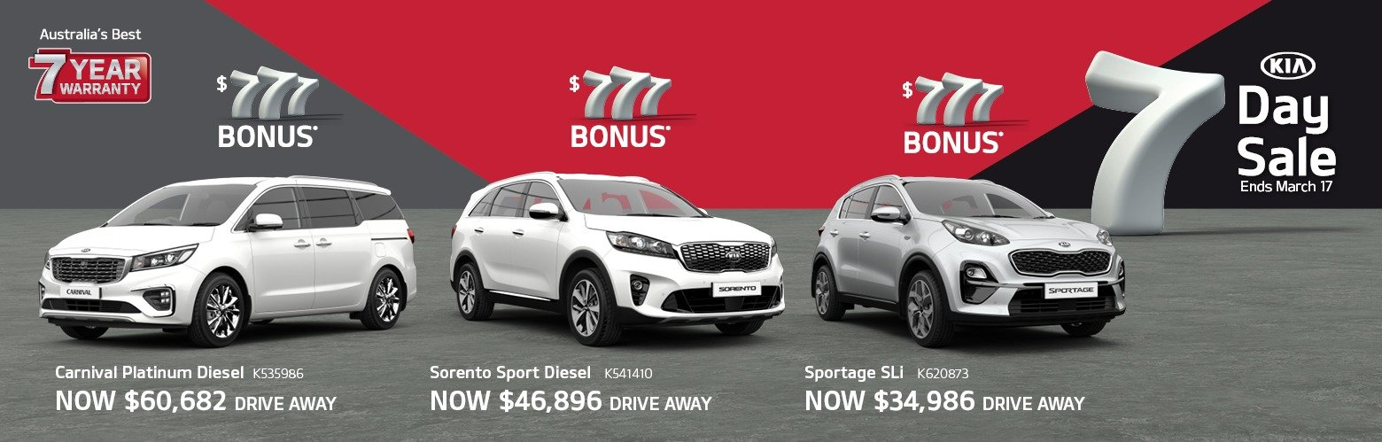 Cardiff Kia 7 Day Sale