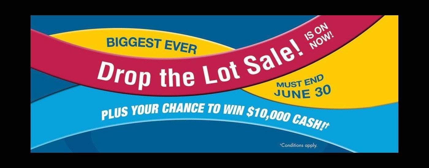 Drop The Lot Sale