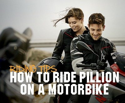 How To Ride Pillion On A Motorbike image