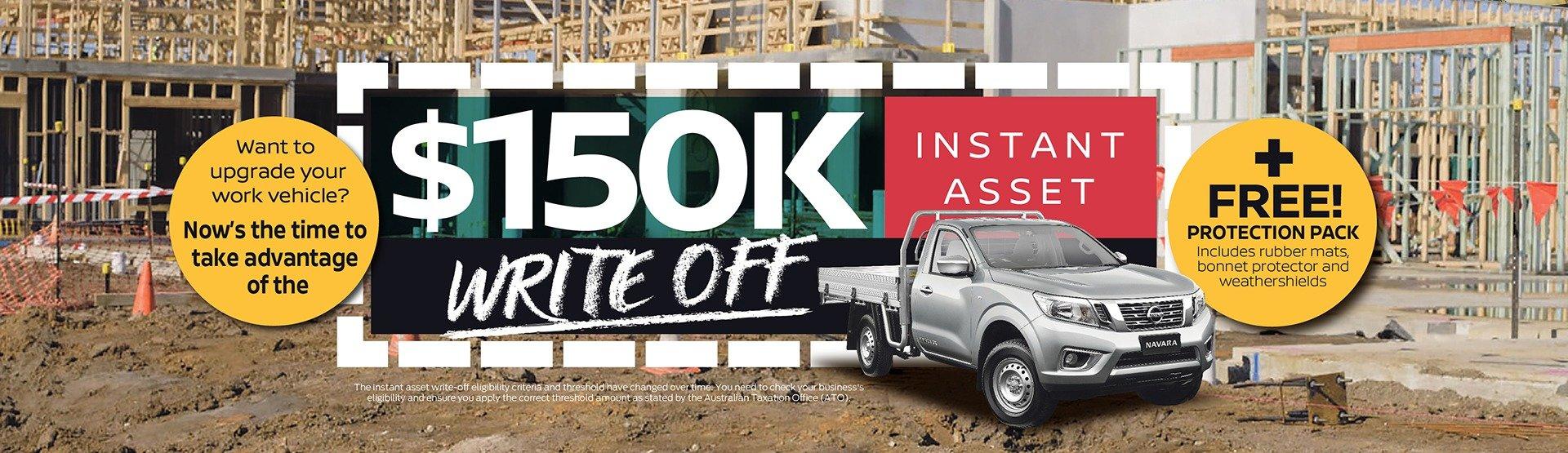 Nissan-150K-asset-write-off