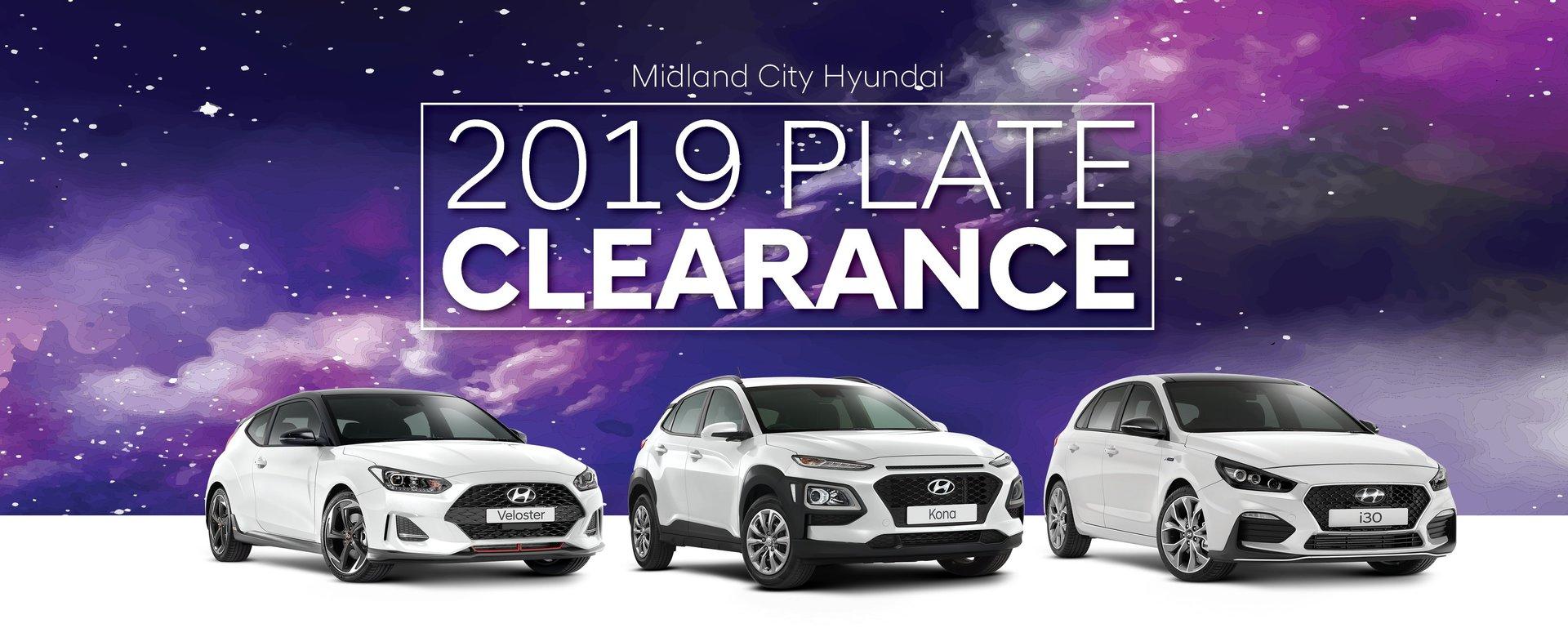 Plate Clearance Sale