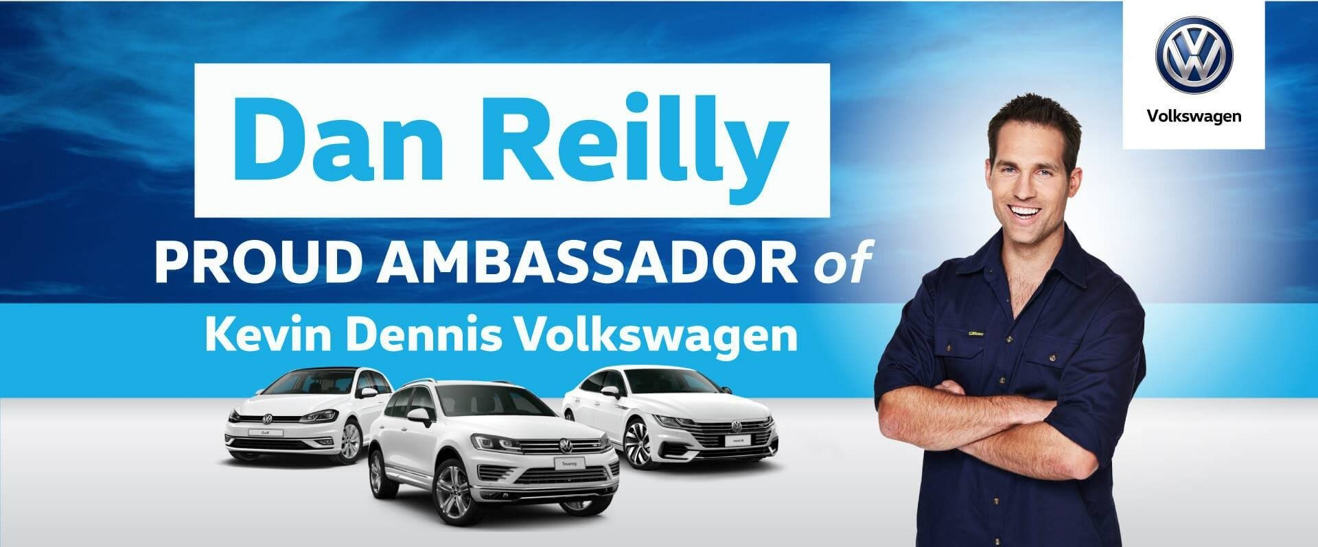 Dan Reilly | Proud Ambassador of Kevin Dennis VW