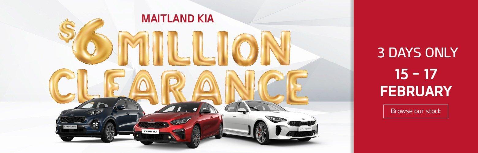 MK $6M Stock Clearance