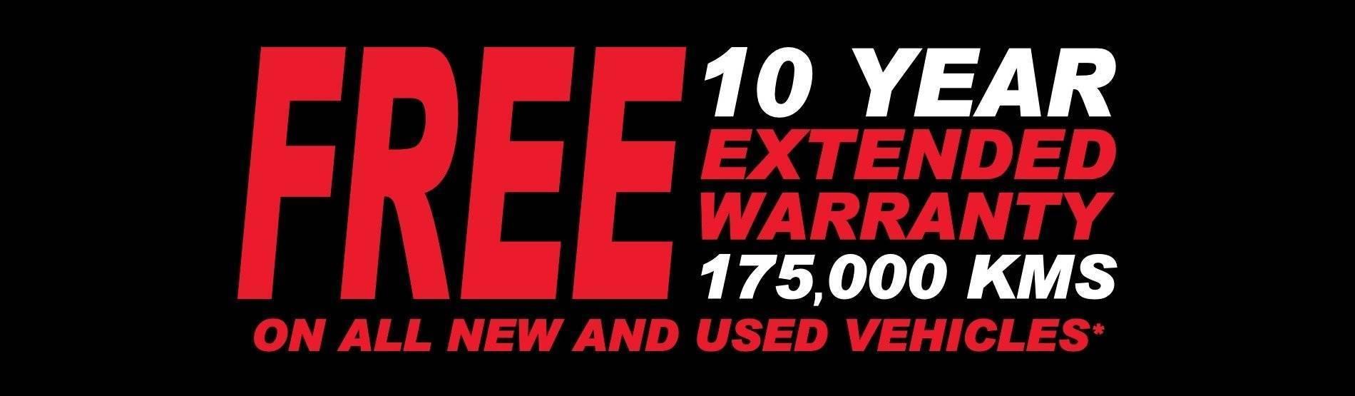 10 Year Extended Warranty