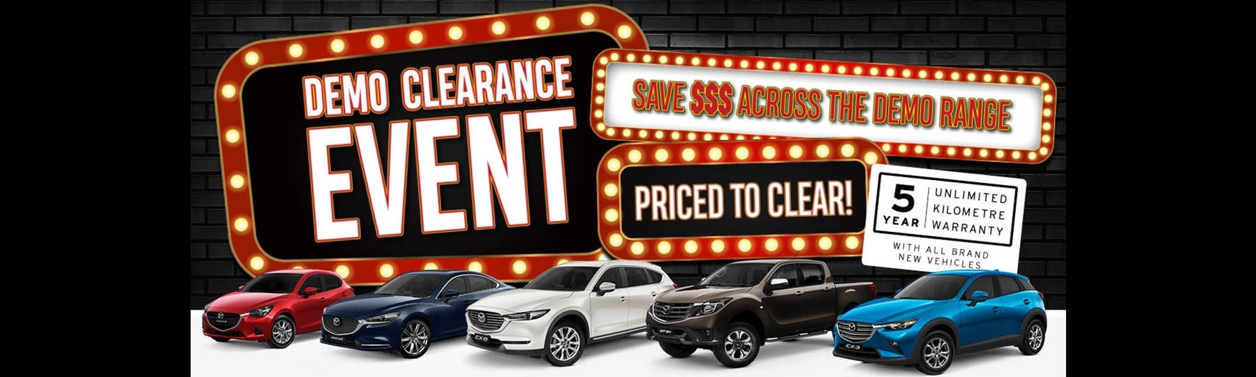 Demo Clearance Event