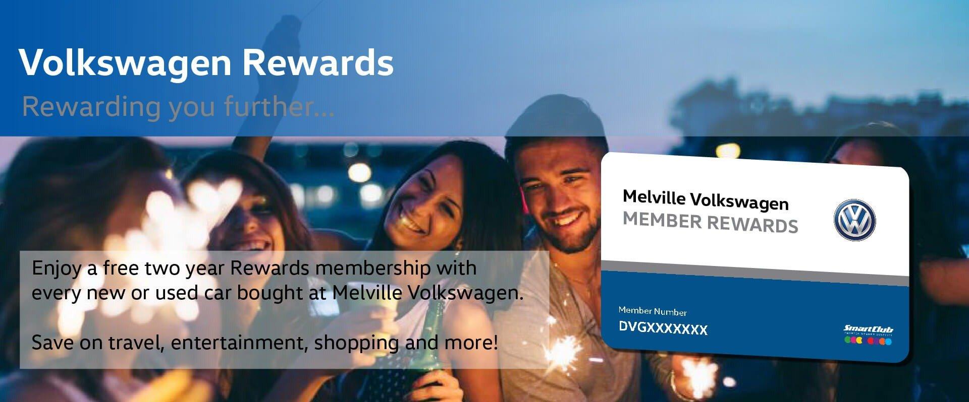 Melville Volkswagen Rewards