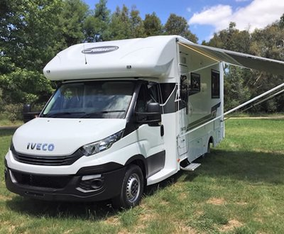 IVECO Daily 35S-Based Motorhome image