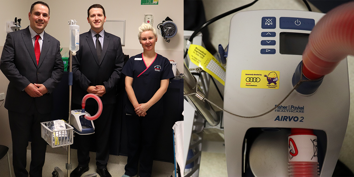 blog large image - New AirVo2 Humidifier for the Austin Hospital in Heidelberg