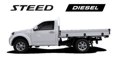 Steed 4x2 / 4x4 Single Cab Diesel