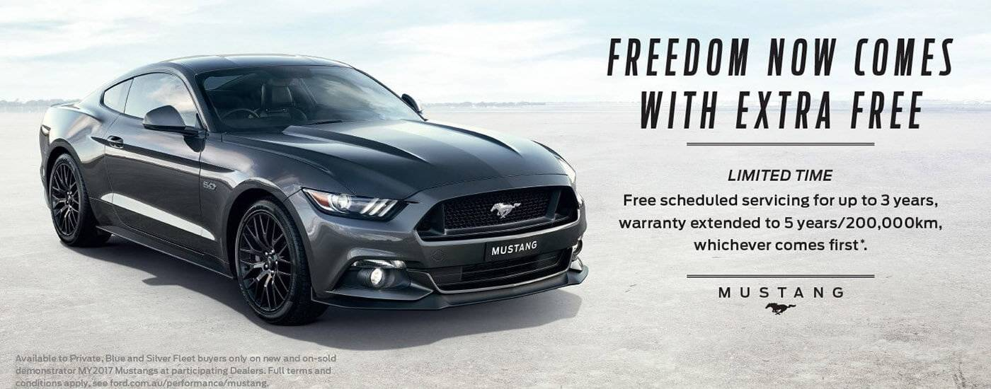 Ford Mustang Offer