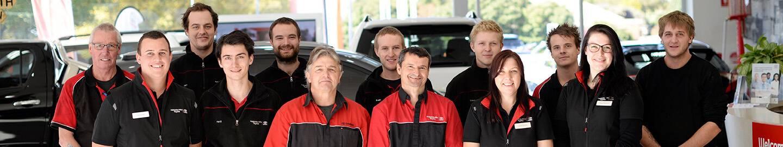 Adelaide Hills Toyota Service Team