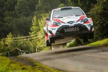Yarra Valley yaris rally-spain image