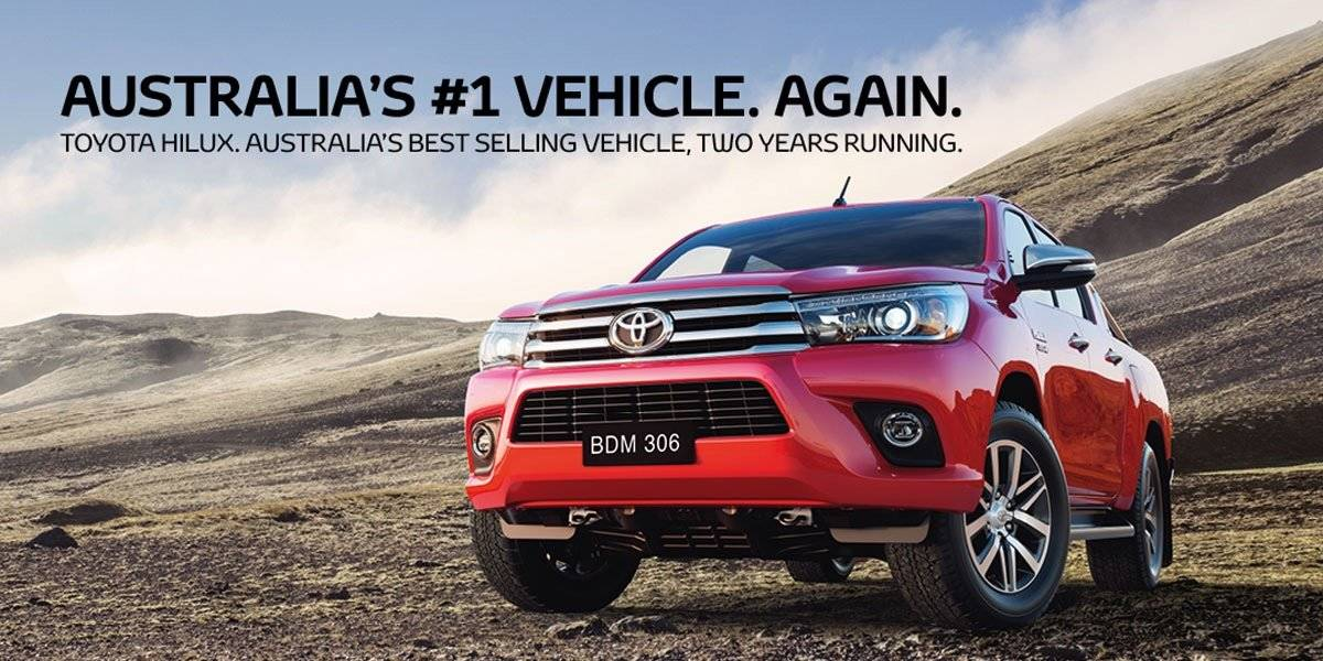 blog large image - HiLux, Australia's #1 Vehicle Again