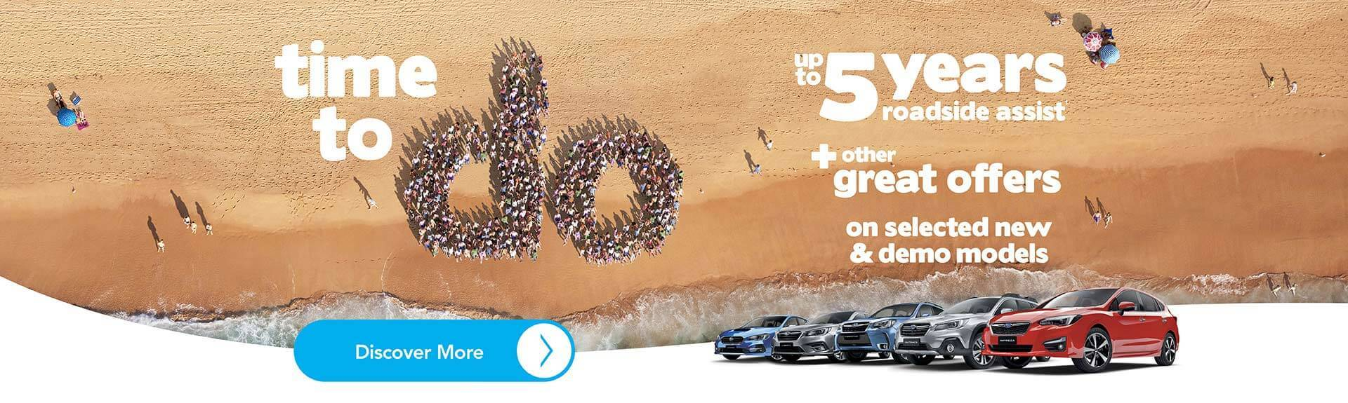 Subaru March Offers