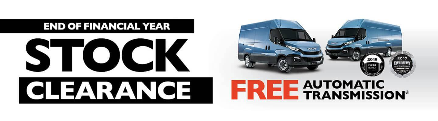 Iveco Stock Clearance