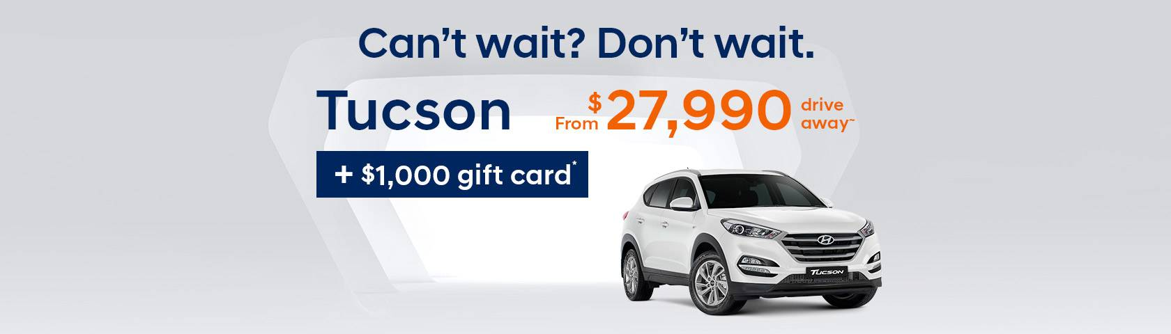 Hyundai Tucson Offer