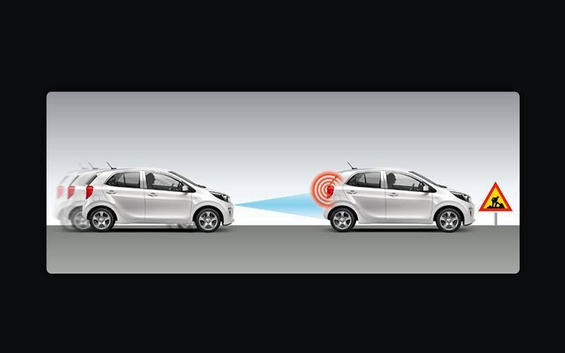 Kia Picanto Autonomous Emergency Braking (AEB)