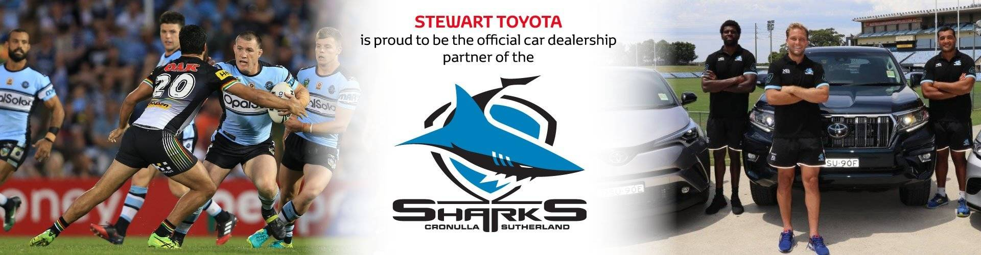 Official Car Dealership for the Cronulla Sharks