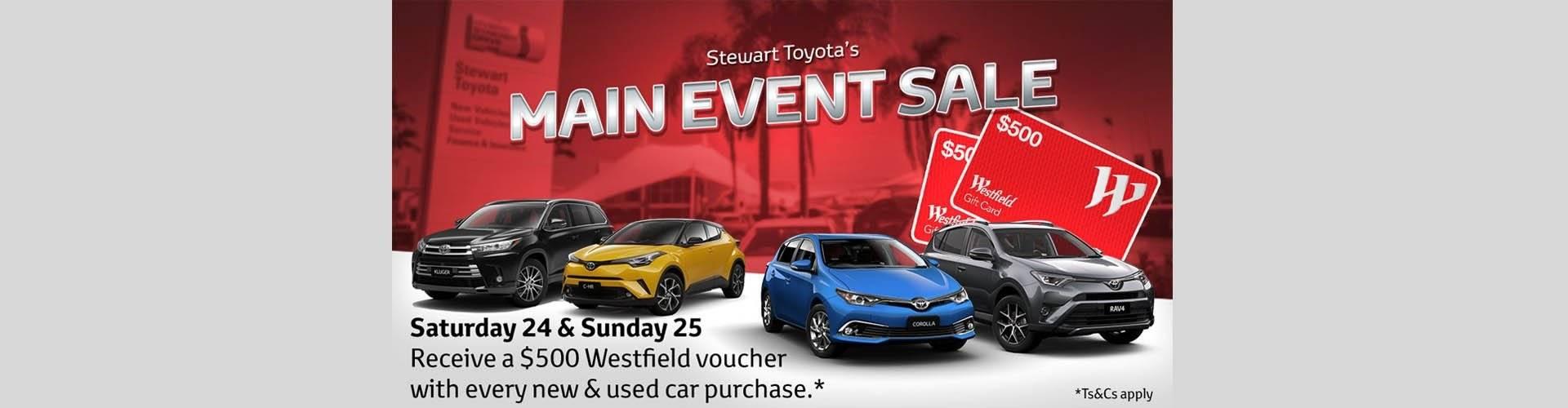 Stewart Toyota Sale