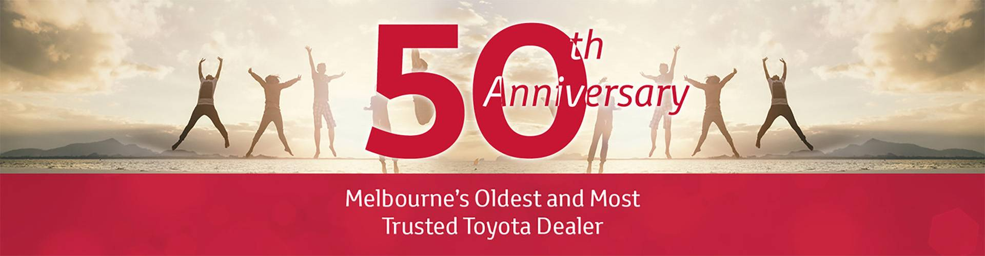 50 Year Anniversary | Yarra Valley Toyota