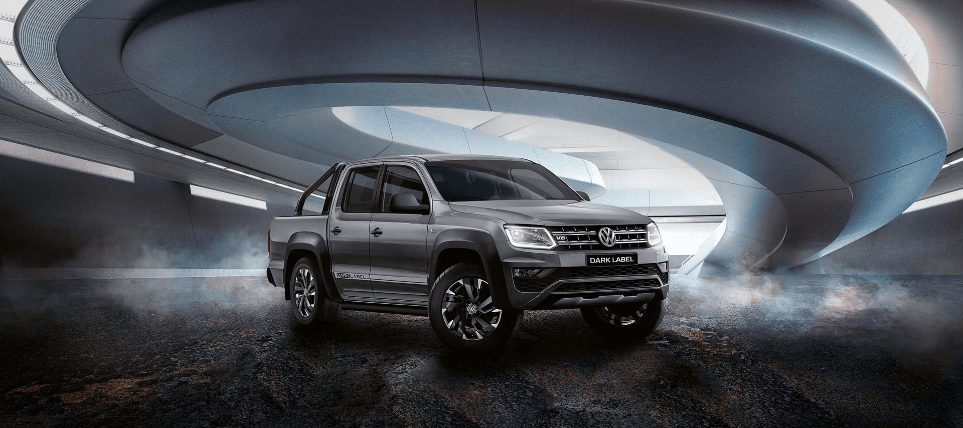 Amarok V6 Dark Label Banner