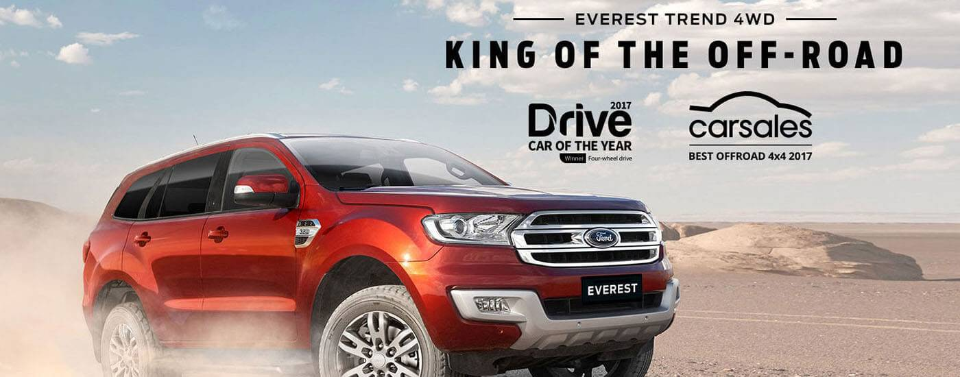 Ford Everest Trend Awards