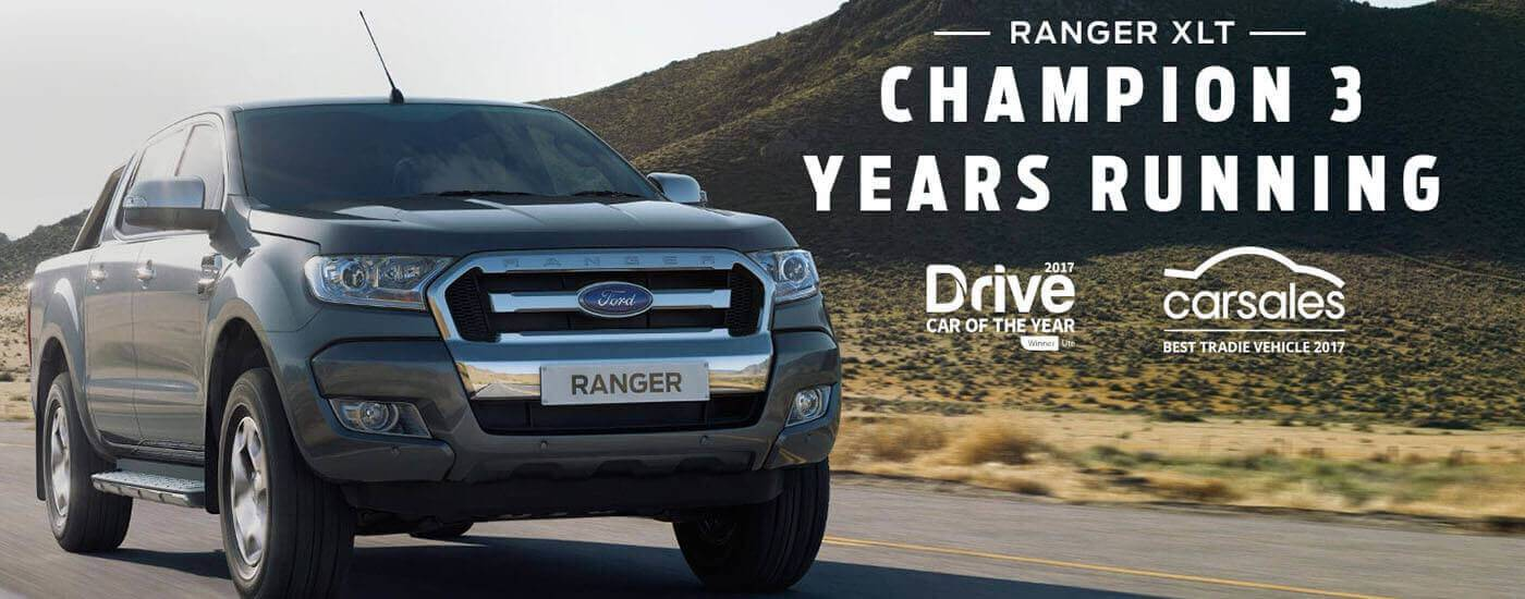 Ford Ranger XLT Awards