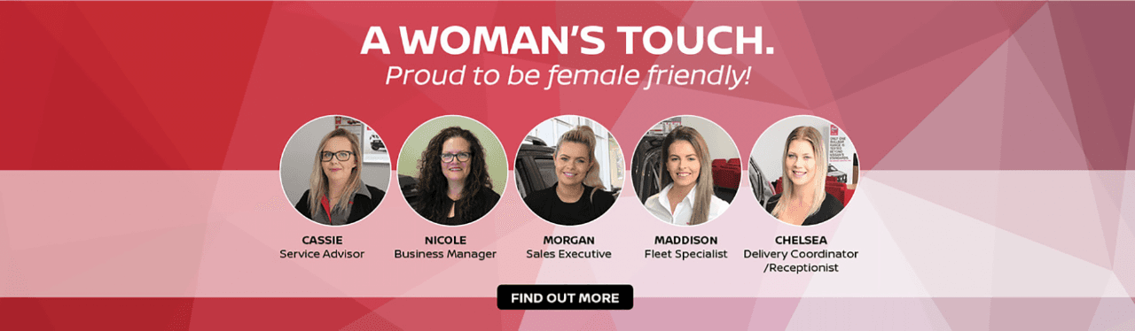 A Woman's Touch - Proud to be Female Friendly