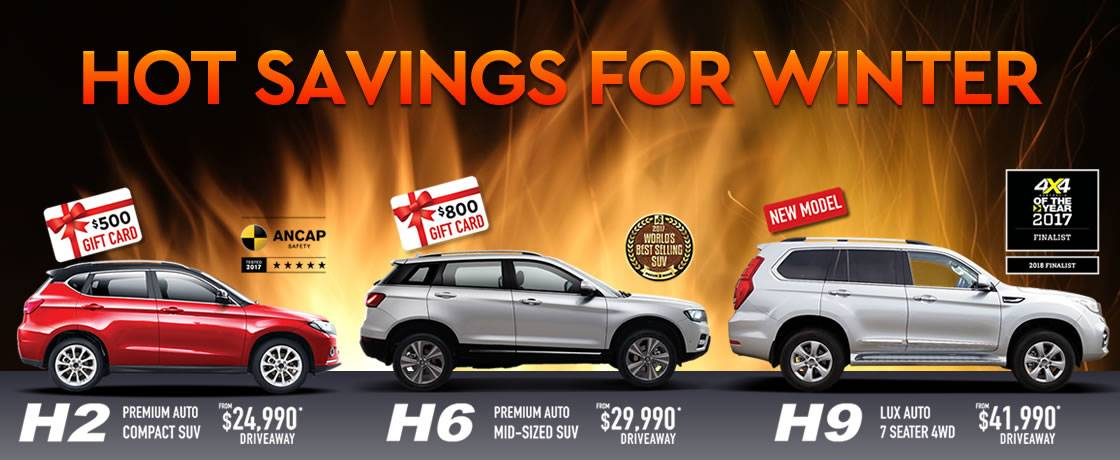 Haval | Hot Savings For Winter