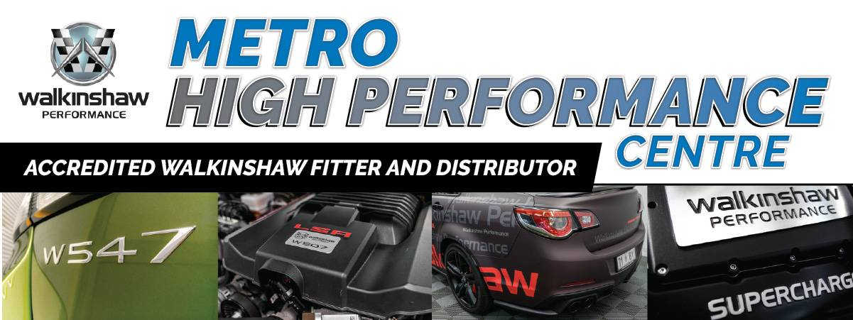 Metro Auto Center Accredited Walkinshaw Fitter and Distributor