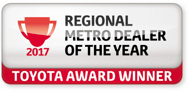 Regional Metro Dealer of the Year