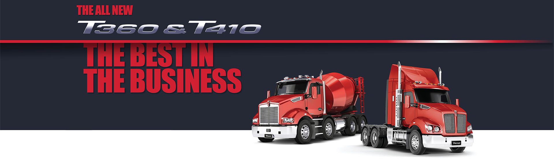Kenworth T360 and T410