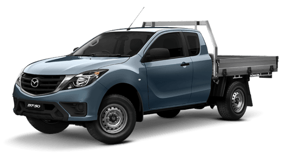 Mazda BT-50 FREESTYLE CAB  4x4 XT with tray