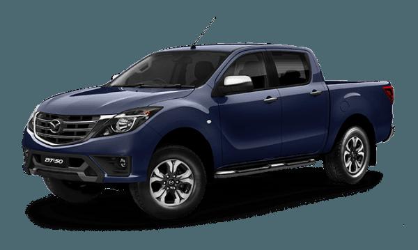 Mazda BT-50 DUAL CAB  4x4 Utility XTR