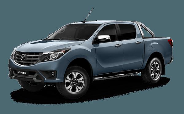 Mazda BT-50 DUAL CAB  4x4 Utility GT
