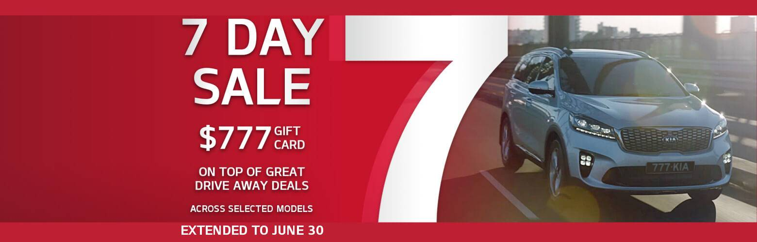 Kia 7 Day Sale Extended