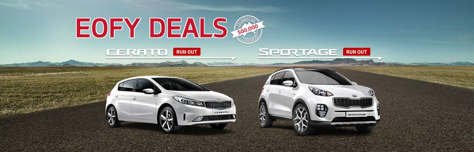 Kia Run Out Offer