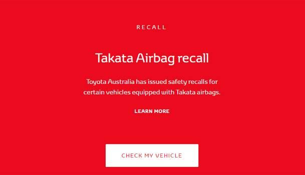 Airbag-recall-werribee-toyota