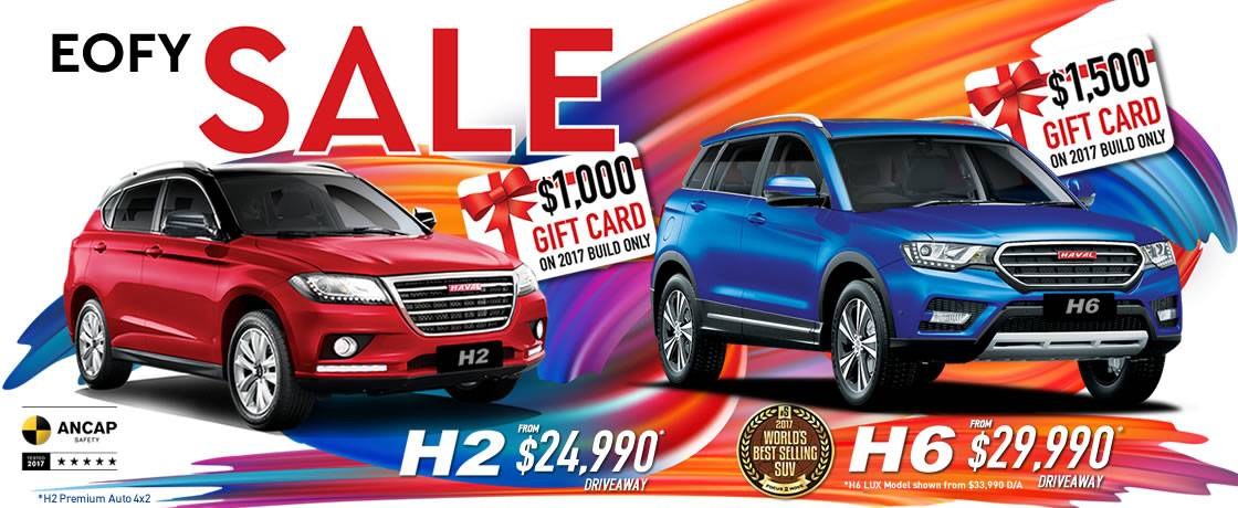 HAVAL EOFY Sale