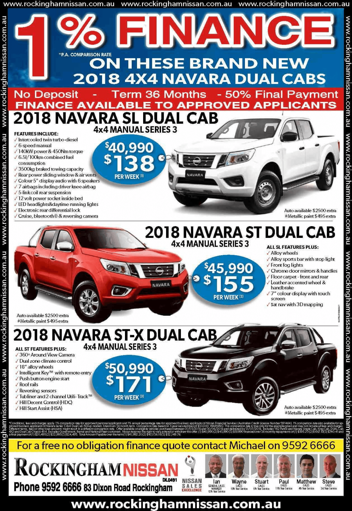 Nissan-navara-special-offer-rockingham-nissan