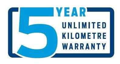 Ford 5 Year Unlimited Kilometre Warranty