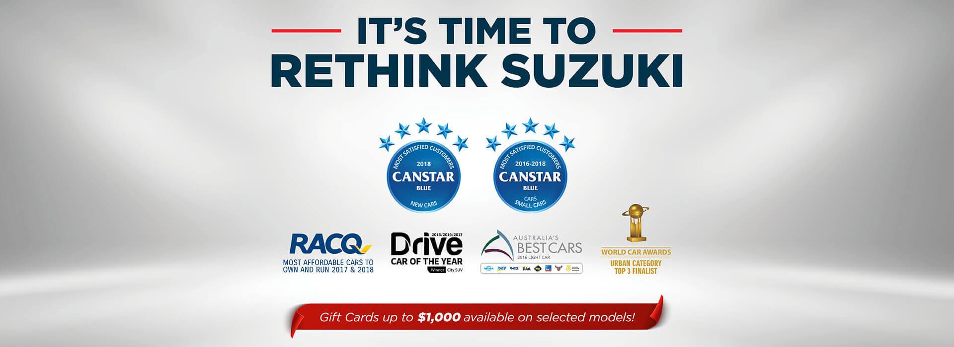 Suzuki banner image
