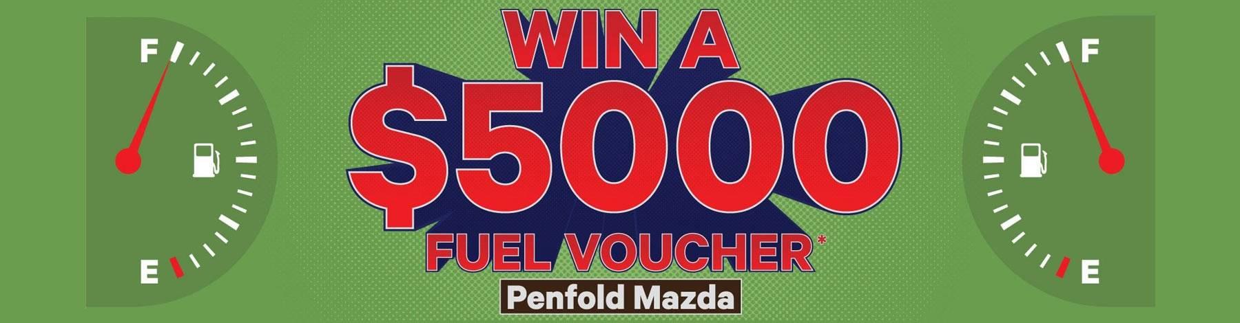 Penfold Mazda Win A Fuel Voucher