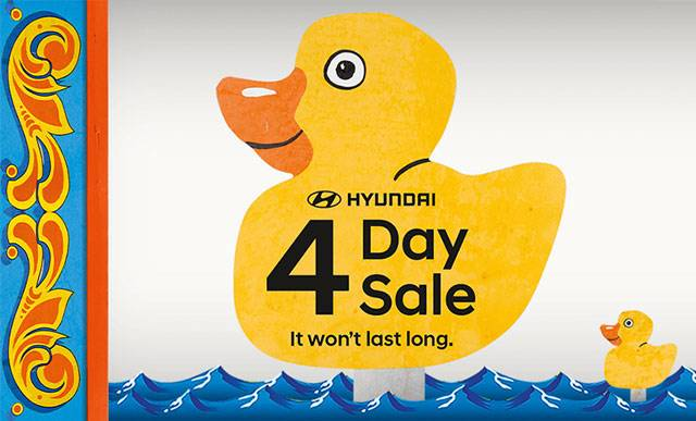 Hyundai 4 Day Sale